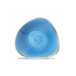 Churchill Stonecast Triangular Bowls 18.5cm Cornflower Blue | Coffeecups.co.uk