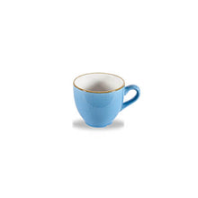 Churchill Stonecast Espresso Cups Cornflower Blue 3.5oz | Churchill Vitrified China | Coffeecups.co.uk