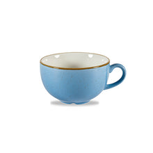 Churchill Stonecast Cappuccino Cups Cornflower Blue 8oz | Churchill Vitrified China | Coffeecups.co.uk