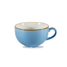 Churchill Stonecast Cappuccino Cups Cornflower Blue 12oz | Churchill Vitrified China | Coffeecups.co.uk