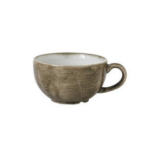 Churchill Stonecast Patina Cappuccino Cup Antique Taupe 12oz | Churchill Vitrified China | Coffeecups.co.uk
