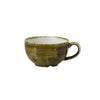 Churchill Stonecast Plume Cappuccino Cups 8oz Olive | Coffeecups.co.uk