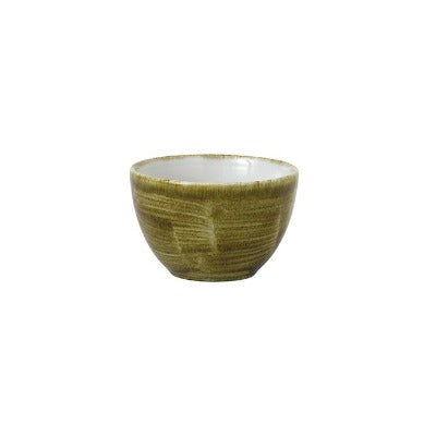 Churchill Stonecast Plume Sugar Bowls 8oz Olive | Coffeecups.co.uk