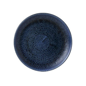 Churchill Stonecast Plume Coupe Plates 26cm Ultramarine | Coffeecups.co.uk