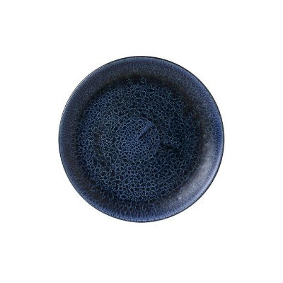 Churchill Stonecast Plume Coupe Plates 22cm Ultramarine | Coffeecups.co.uk