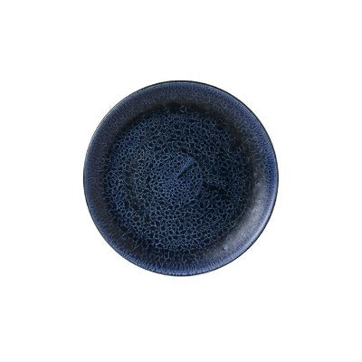Churchill Stonecast Plume Coupe Plates 16.5cm Ultramarine | Coffeecups.co.uk