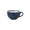 Churchill Stonecast Plume Cappuccino Cups 8oz Ultramarine | Coffeecups.co.uk