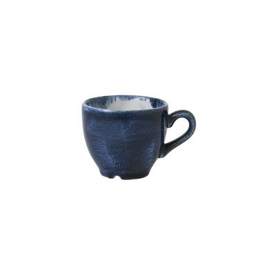 Churchill Stonecast Plume Espresso Cups 3.5oz Ultramarine | Coffeecups.co.uk