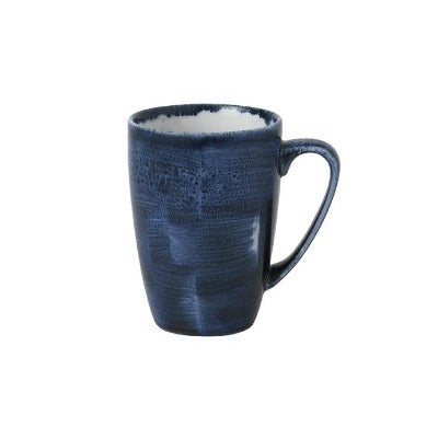 Churchill Stonecast Plume Mugs 12oz Ultramarine | Coffeecups.co.uk