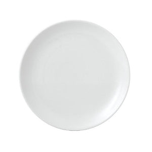 Churchill Vellum Coupe Plate 26cm | Churchill White Tableware | Coffeecups.co.uk