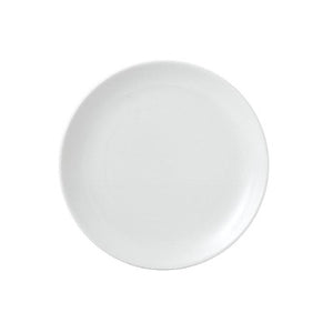 Churchill Vellum Coupe Plate 21.5cm | Churchill White Tableware | Coffeecups.co.uk