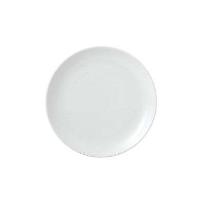 Churchill Vellum Coupe Plate 16.5cm | Churchill White Tableware | Coffeecups.co.uk