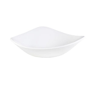 Churchill Vellum Triangle Bowl 23.5cm | Churchill White Tableware | Coffeecups.co.uk