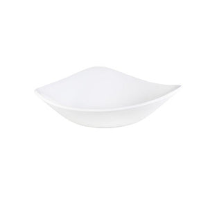 Churchill Vellum Triangle Bowl 18.5cm | Churchill White Tableware | Coffeecups.co.uk
