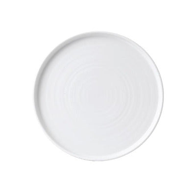 Churchill Vellum Chef's Walled Plate 26cm | Churchill White Tableware | Coffeecups.co.uk