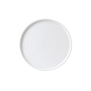 Churchill Vellum Chef's Walled Plate 21cm | Churchill White Tableware | Coffeecups.co.uk