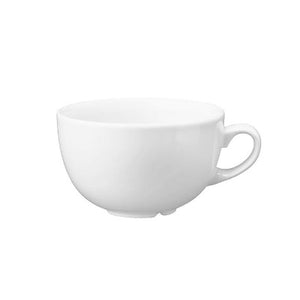 Churchill Vellum Cappuccino Cup 12oz | Churchill White Tableware | Coffeecups.co.uk