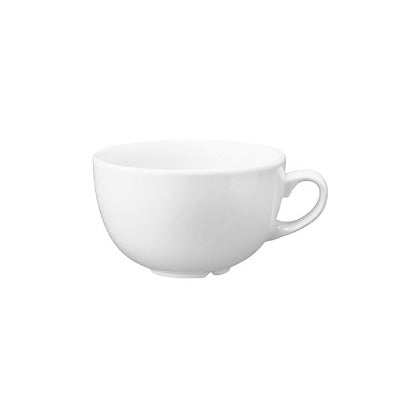 Churchill Vellum Cappuccino Cup 8oz | Churchill White Tableware | Coffeecups.co.uk