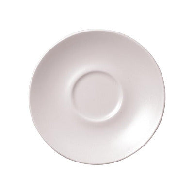 Churchill Vellum Saucer 15.6cm | Churchill White Tableware | Coffeecups.co.uk