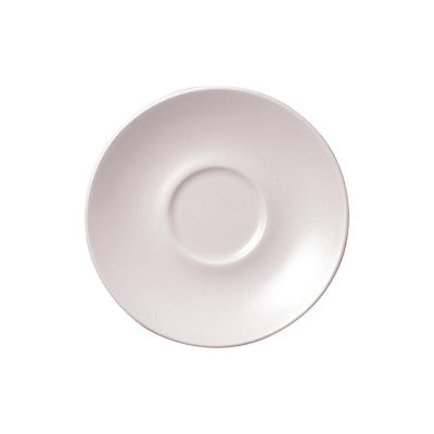 Churchill Vellum Saucer 11.8cm | Churchill White Tableware | Coffeecups.co.uk