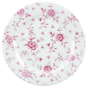 Churchill Vintage Cranberry Rose Chintz Plate 30.5cm - Coffeecups.co.uk