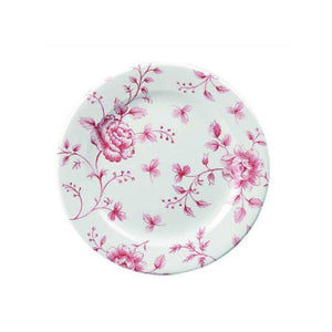 Churchill Vintage Cranberry Rose Chintz Tea Plate 17cm - Coffeecups.co.uk