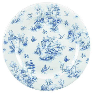 Churchill Vintage Prague Toile Plate 30.5cm - Coffeecups.co.uk