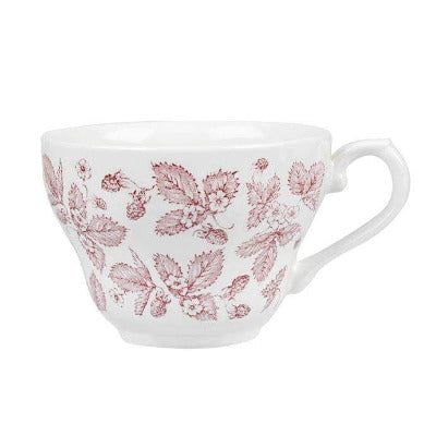 Churchill Vintage Cranberry Bramble Georgian Teacup 7oz - Coffeecups.co.uk