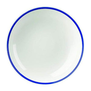 Churchill Retro Blue Coupe Bowl 31cm - Coffeecups.co.uk
