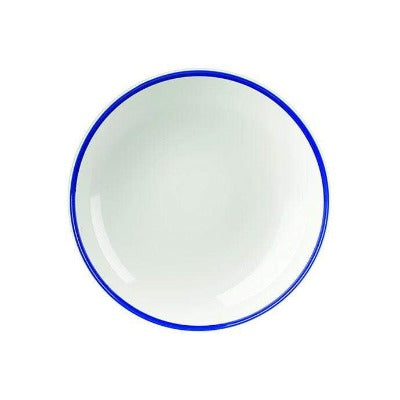 Churchill Retro Blue Coupe Bowl 24.8cm - Coffeecups.co.uk