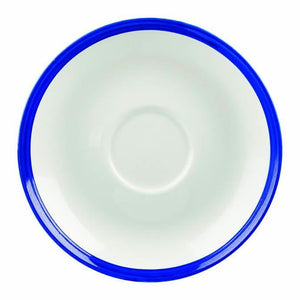 Churchill Retro Blue Espresso Saucer 12cm - Coffeecups.co.uk