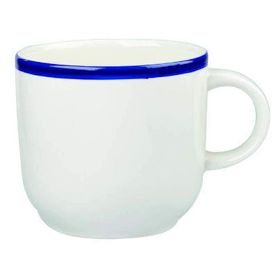 Churchill Retro Blue Mug 16oz - Coffeecups.co.uk