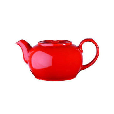 Churchill Beverage Red Nova Teapot 15oz - Coffeecups.co.uk