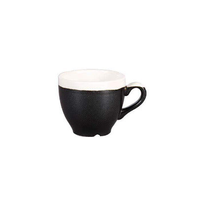 Churchill Monochrome Espresso Cups 3.5oz/100ml - Coffeecups.co.uk