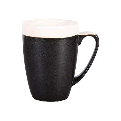 Churchill Monochrome Latte Mugs 12oz/340ml - Coffeecups.co.uk