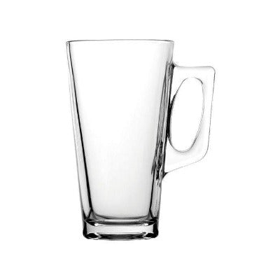 Conic Latte Glass 12oz - Coffeecups.co.uk