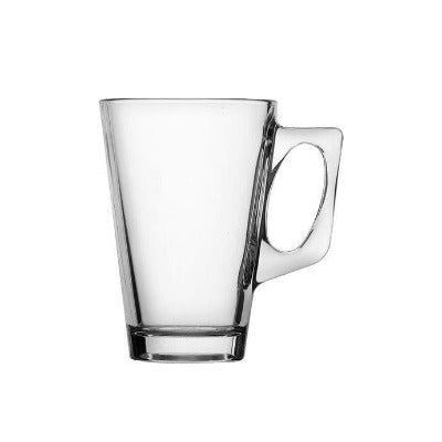 Conic Latte Glass 8oz - Coffeecups.co.uk