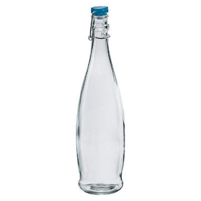 Indro 1000ml Bottles - Blue lid - Coffeecups.co.uk