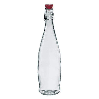 Indro 1000ml Bottles - Red lid