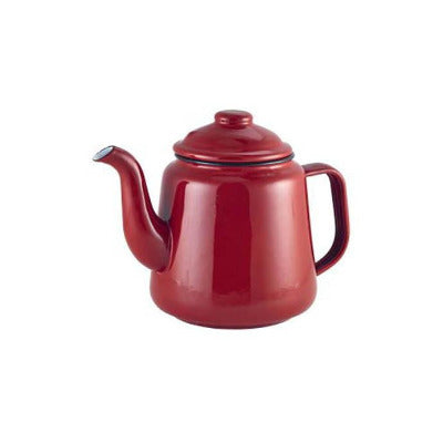 Genware Enamel Teapots 52.75oz - Coffeecups.co.uk