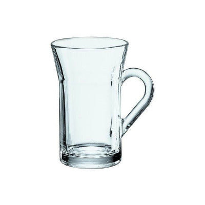 Tazzine Latte Flat Bottom Glass 8.5oz - Coffeecups.co.uk