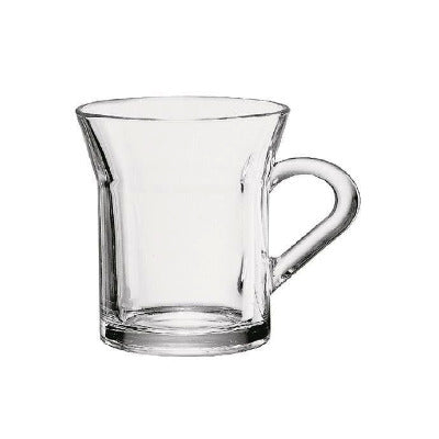Tazzine Latte Flat Bottom Glass 11oz - Coffeecups.co.uk
