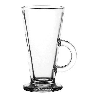 Catalina V Shaped Latte Glass 16oz - Coffeecups.co.uk
