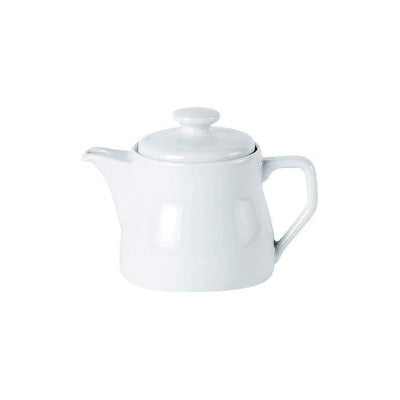Porcelite Traditional Teapot 16oz - Coffeecups.co.uk