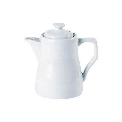 Porcelite Traditional Coffee Pot 11oz - Coffeecups.co.uk