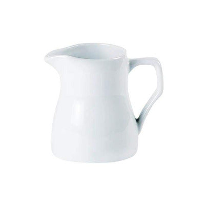 Porcelite Traditional Milk Jug 11oz - Coffeecups.co.uk