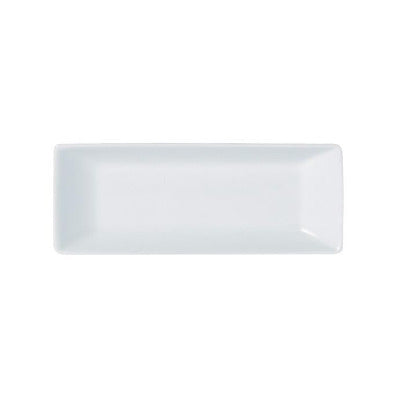 Porcelite Rectangular Tray 18 x 7cm - Coffeecups.co.uk