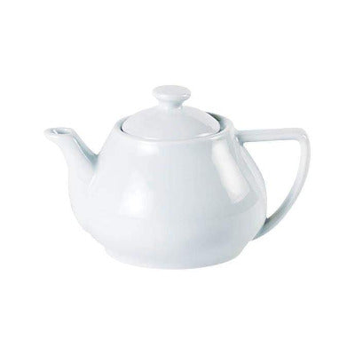 Porcelite Contemporary Teapot 31oz - Coffeecups.co.uk