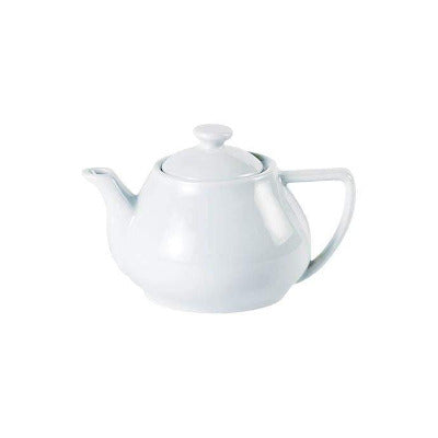 Porcelite Contemporary Teapot 14oz - Coffeecups.co.uk