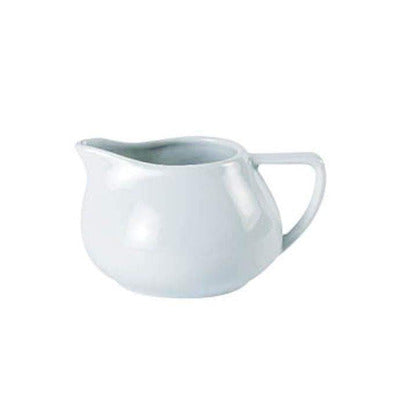 Porcelite Contemporary Milk Jug 10oz - Coffeecups.co.uk